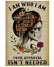 I Am Who I Am Skeleton Reading 11x17 Poster front