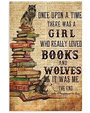 Once Upon A Time Reading Wolves 11x17 Poster front