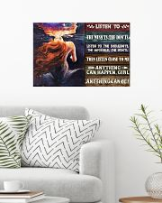 Mermaid Anything Can Happen 24x16 Poster poster-landscape-24x16-lifestyle-01