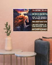 Mermaid Anything Can Happen 24x16 Poster poster-landscape-24x16-lifestyle-22