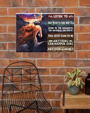 Mermaid Anything Can Happen 24x16 Poster poster-landscape-24x16-lifestyle-24