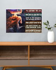 Mermaid Anything Can Happen 24x16 Poster poster-landscape-24x16-lifestyle-25