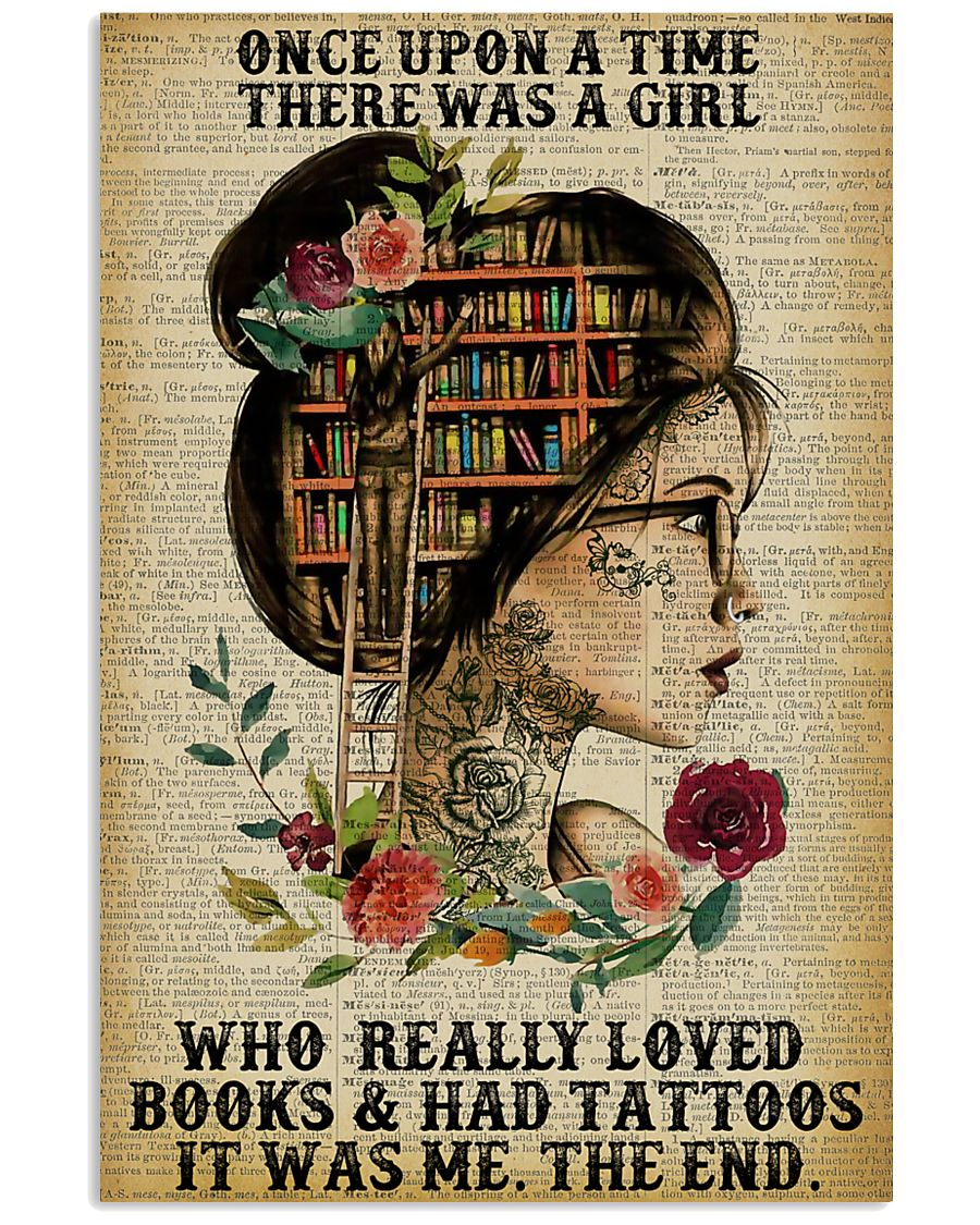 Once Upon A Time Tattoo Reading 11x17 Poster