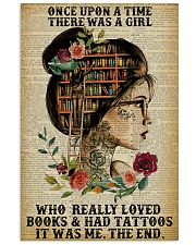 Once Upon A Time Tattoo Reading 11x17 Poster front