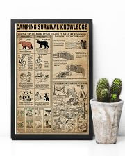 Camping Survival Knowledge 11x17 Poster lifestyle-poster-8