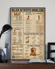 Golden Retriever Knowledge 11x17 Poster lifestyle-poster-2