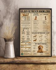 Golden Retriever Knowledge 11x17 Poster lifestyle-poster-3