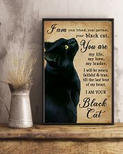 I Am Your Black Cat 16x24 Poster lifestyle-poster-3