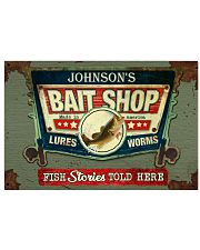 Personalized Fishing Bait Shop 24x16 Poster front