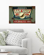 Personalized Fishing Bait Shop 24x16 Poster poster-landscape-24x16-lifestyle-01