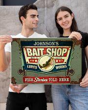 Personalized Fishing Bait Shop 24x16 Poster poster-landscape-24x16-lifestyle-21