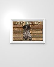 My House My German Shorthaired Pointer My Rules 24x16 Poster poster-landscape-24x16-lifestyle-02