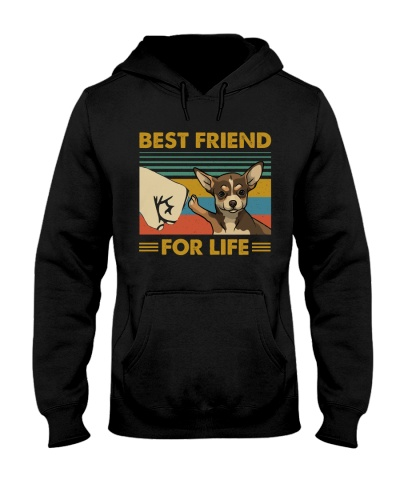 Retro Blue Best Friend For Life Chihuahua