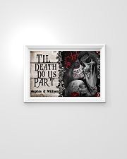 Personalized Skeleton Do Us Part 24x16 Poster poster-landscape-24x16-lifestyle-02