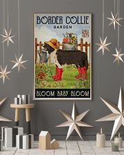 Gardening Bloom Baby Border Collie 16x24 Poster lifestyle-holiday-poster-1