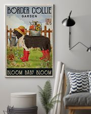 Gardening Bloom Baby Border Collie 16x24 Poster lifestyle-poster-1