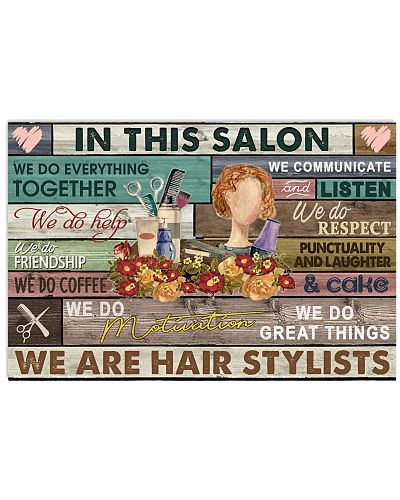 Floral In This Salon We Are Hair Stylist