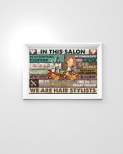 Floral In This Salon We Are Hair Stylist 24x16 Poster poster-landscape-24x16-lifestyle-02