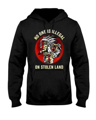 No One Is Illegal Native American