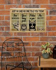 Just In Case No One Told You Today Cat 24x16 Poster poster-landscape-24x16-lifestyle-24