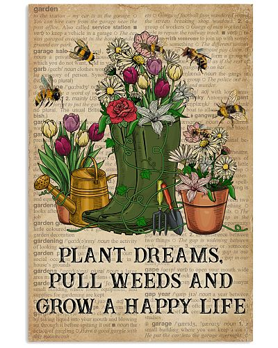 Dictionary Plant Dreams Pull Weeds Garden