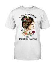 Dangerous Creature Reading Classic T-Shirt thumbnail