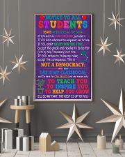 Teacher Notice To All Students 11x17 Poster lifestyle-holiday-poster-1