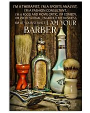 I Am Your Barber 16x24 Poster front