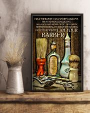 I Am Your Barber 16x24 Poster lifestyle-poster-3