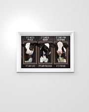 It's Not A Phase Cow Frame 24x16 Poster poster-landscape-24x16-lifestyle-02