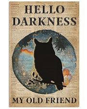 Blue Earth Hello Darkness Owl 11x17 Poster front