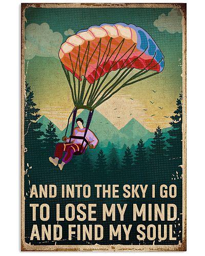 Retro Sky Find My Soul Paragliding