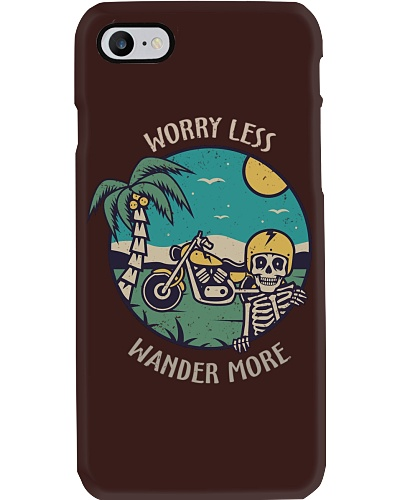 Worry Less Wander More Motorcycling