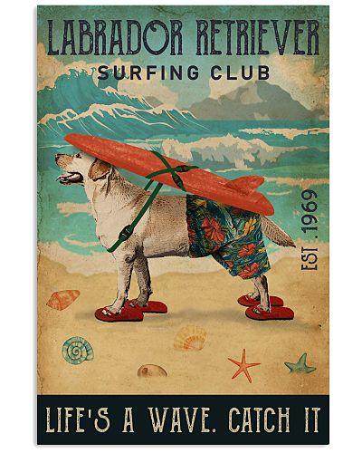 Surfing Club Labrador Retriever