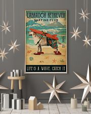 Surfing Club Labrador Retriever  11x17 Poster lifestyle-holiday-poster-1