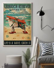 Surfing Club Labrador Retriever  11x17 Poster lifestyle-poster-1