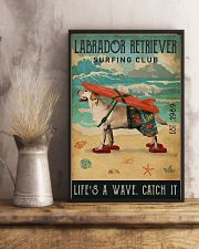 Surfing Club Labrador Retriever  11x17 Poster lifestyle-poster-3