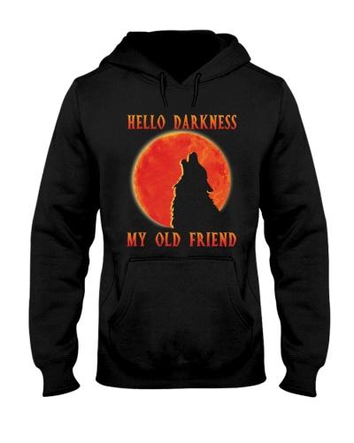 Red Sun Hello Darkness My Old Friend Wolf