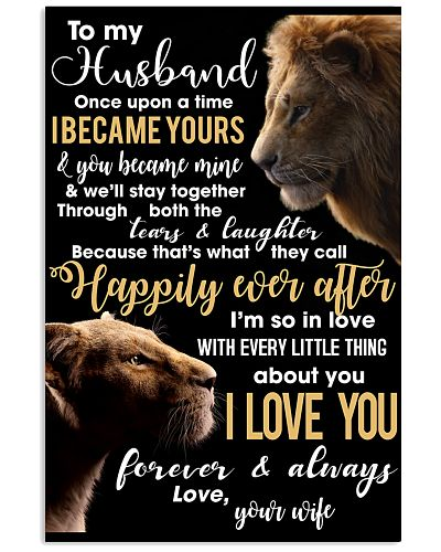 To My Wife You Became Mine Lion