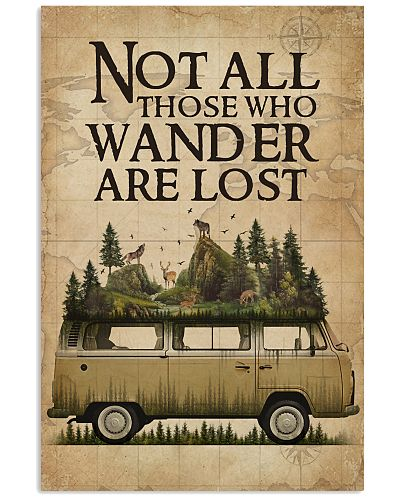 Wanderlust Forest Pallet Camper Van Not All Those
