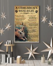 A Chihuahua's House Rules 11x17 Poster lifestyle-holiday-poster-1