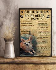 A Chihuahua's House Rules 11x17 Poster lifestyle-poster-3