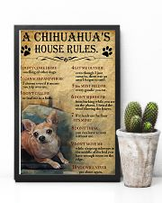 A Chihuahua's House Rules 11x17 Poster lifestyle-poster-8