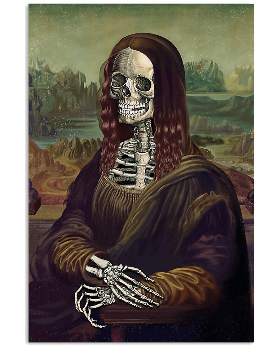 Mona Skeleton 11x17 Poster