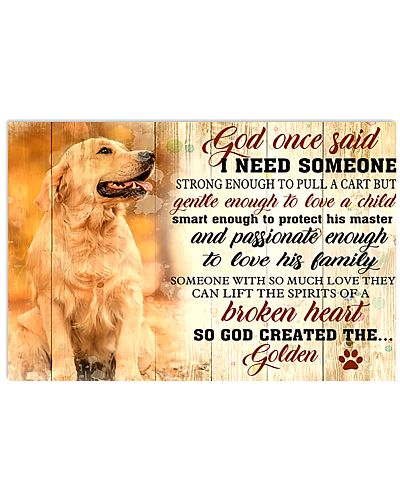 God Once Said Golden Retriever Dog