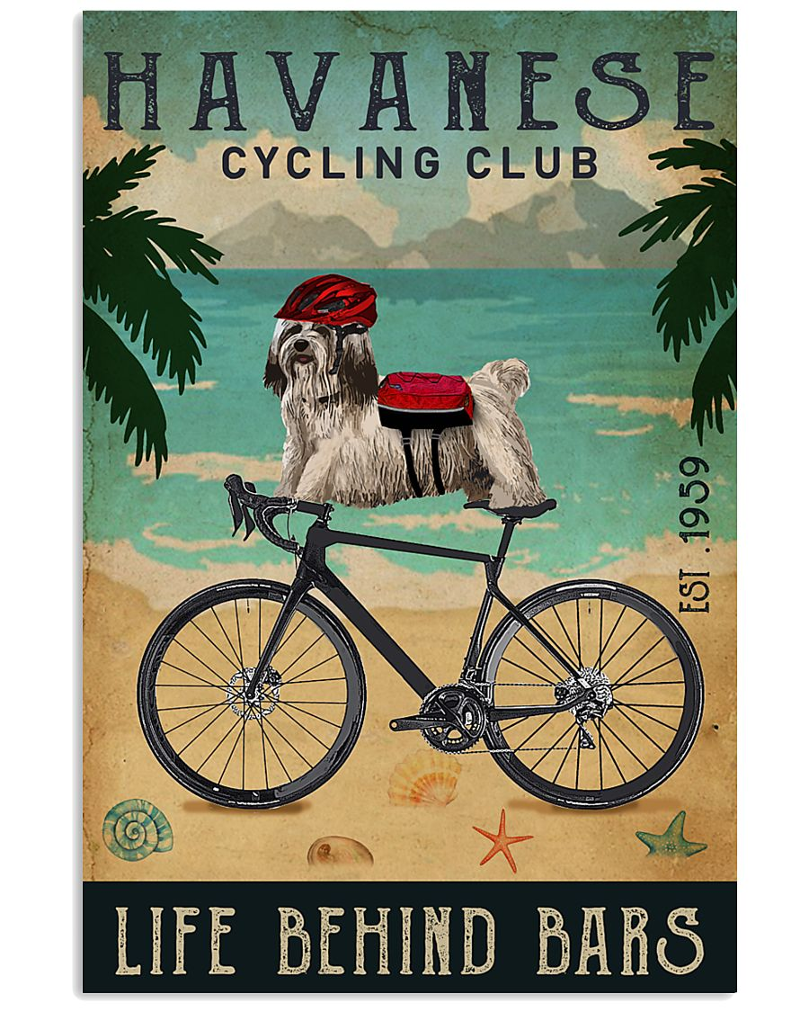 Cycling Club Havanese  11x17 Poster