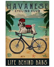 Cycling Club Havanese  11x17 Poster front