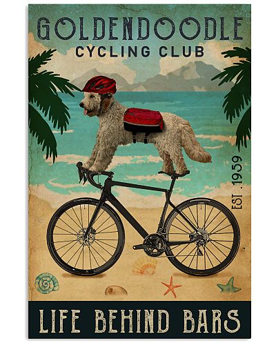 Cycling Club Goldendoodle