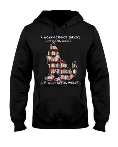 A Woman Cannot Survive On Books Wolves