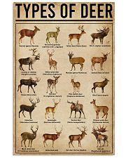 Types Of Deer 11x17 Poster front